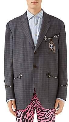 990b4d54bdd Gucci Men s Wool Formal Jacket