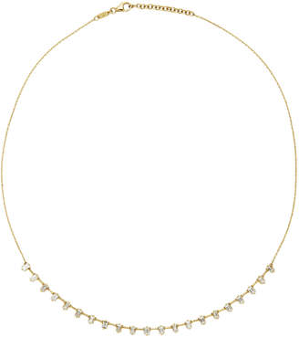 As 29 AS29 Baguette Diamond & 18K Yellow Gold Necklace
