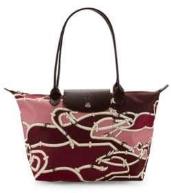 Longchamp Printed Shoulder Bag