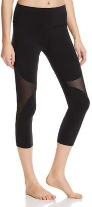 Alo Yoga High Waist Coast Crop Leggings $94 thestylecure.com