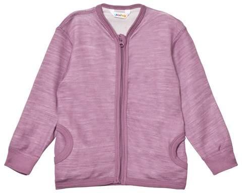 Joha Purple Zipped Cardigan
