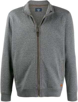 Hackett knitted sweat jacket