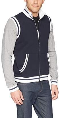 Armani Exchange A|X Men's Stripe Vasity Jacket
