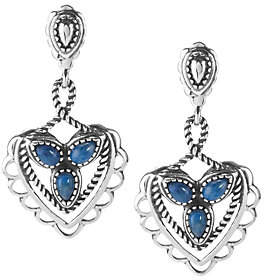 American West American West Choice of Color Heart Dangle Earrings