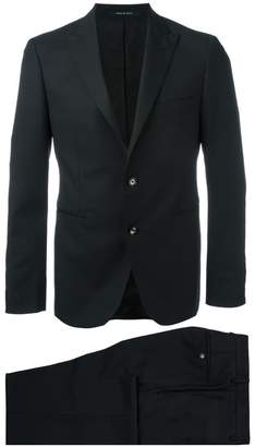 Tagliatore pointed lapel two-piece suit