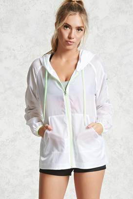 Forever 21 Active Sheer Windbreaker