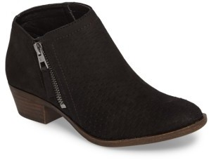 Women's Lucky Brand Brielley Perforated Bootie $138.95 thestylecure.com