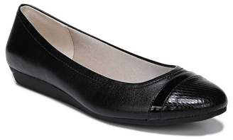 LifeStride Playful Snake Embossed Flat - Wide Width Available