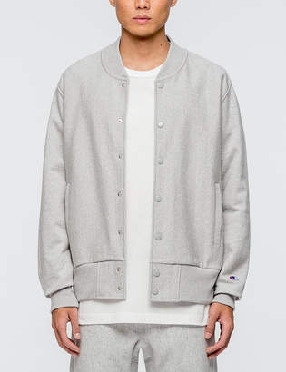 Champion Reverse Weave Jersey Stadium Jacket