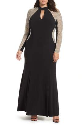 Xscape Evenings Beaded A-Line Gown