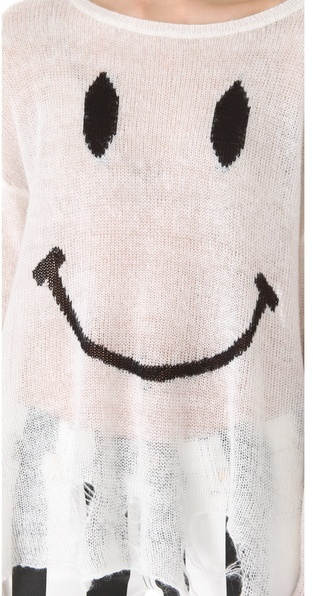Wildfox Couture 90s Smile Knit Sweater