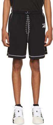 adidas by Alexander Wang Black Logo Shorts