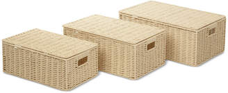 Honey-Can-Do 3-Pc. Paper Rope Basket Set