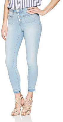 William Rast Women's High Rise Crop Jean