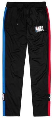Marcelo Burlon County of Milan X NBA Striped Jersey Jogging Trousers