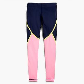 J.Crew New Balance® for Trinamic leggings in striped colorblock