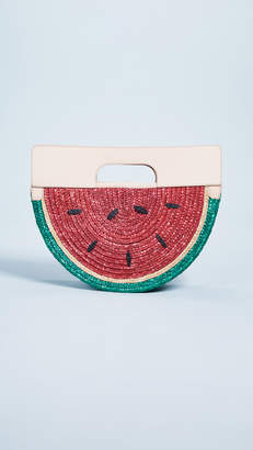 Alice + Olivia Donna Watermelon Half Circle Bag