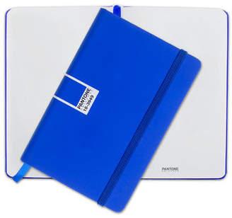 Pantone NEW Dazzling Blue Pocket Plain Elastic Band Notebook