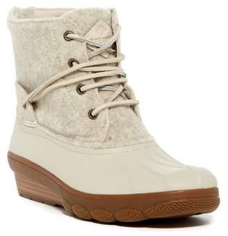 Sperry Saltwater Wedge Tide Wool Blend Boot