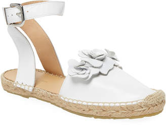Saks Fifth Avenue Leather Espadrilles Sandal