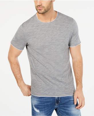 INC International Concepts I.n.c. Men's Heathered Tipped T-Shirt
