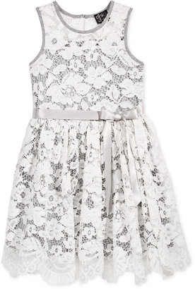 Pink & Violet Sleeveless Lace Dress, Toddler & Little Girls (2T-6X) $74 thestylecure.com