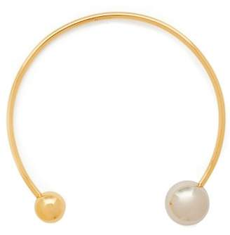 Jil Sander Open Ball Choker - Womens - Gold