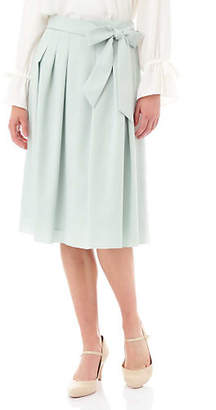 Aylesbury (アリスバーリー) - Aylesbury リボン付スプリングカラースカート