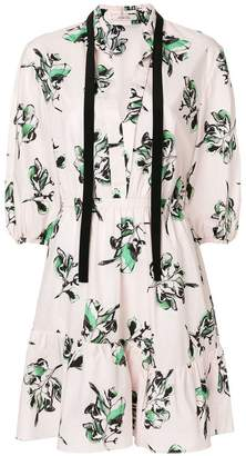 Schumacher Dorothee floral drawstring mini dress