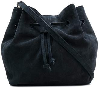 Jil Sander Navy bucket shoulder bag
