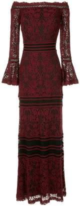 Tadashi Shoji off shoulder lace dress