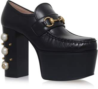 Gucci Vegas Pearl Loafers 125