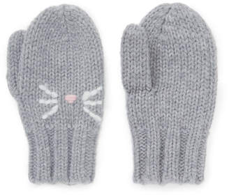 Jigsaw Cat Knitted Gloves