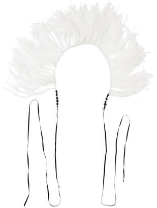 Ann Demeulemeester Feather Boa Necklace