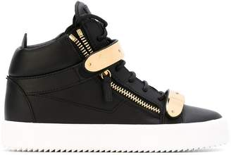 Giuseppe Zanotti Design London mid-top sneakers