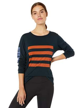 Freecity Women's Rainbow Jump Long Sleeve Tshirt