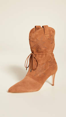 Chloé Gosselin Thelma Embroidered Pointed Boots