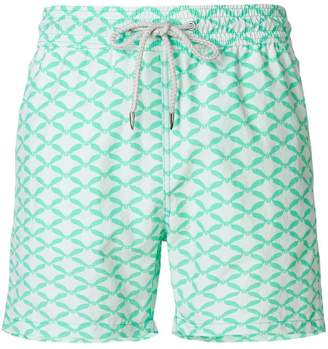 Love Brand printed swim shorts