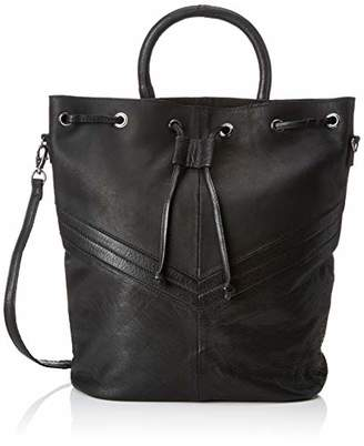 dfcf4d9c8 Pieces Pcbella Leather Tighten Bag, Women's Backpack Handbag,12x31x24 cm (B  x H T