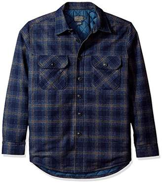 Pendleton Men's Quilted CPO Wool Shirt