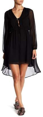 Lucca Couture Madison Long Sleeve Hi-Lo Dress