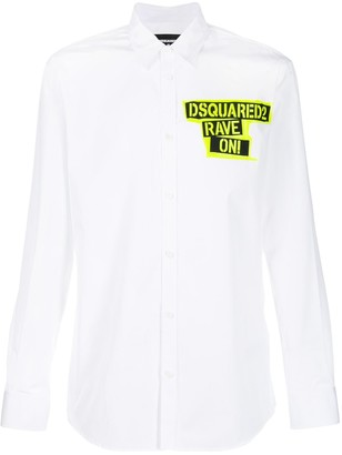 DSQUARED2 rave-on tailored shirt