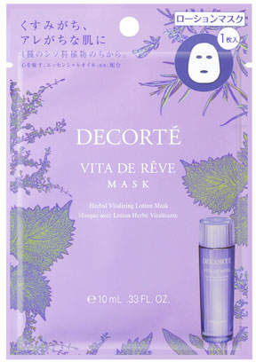 DECORTE Vita de Reve Sheet Mask, 12 Count