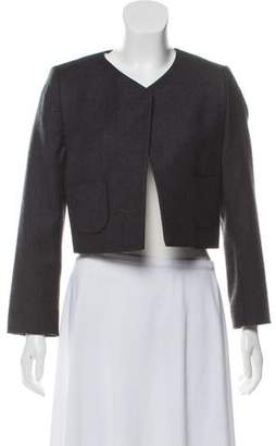 Hache Open Front Cropped Jacket