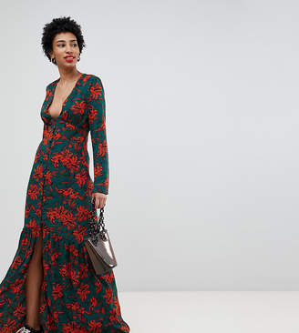 Glamorous Tall maxi dress in romantic floral