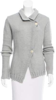 Ann Demeulemeester Mohair Button-Up Cardigan