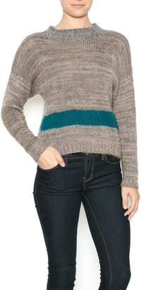 Dc Knits Tan Mohair Sweater