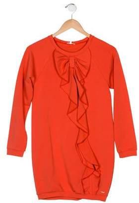 Chloé Long Sleeve Mini Dress