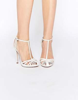 Asos Peace Bridal Caged High Heels