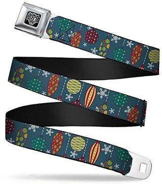 Buckle-Down Unisex-Adults Seatbelt Belt Christmas Regular